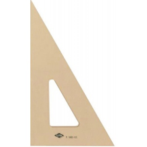 "Alvin® ; Angle: 30/60; Color: Brown; Material: Acrylic; Size: 12""; Type: Triangle; (model T160-12), price per each"
