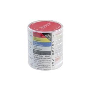 PanPastel® Ultra Soft Painting Pastels 5-Color Starter Set ; Color: Multi; Format: Pan; Type: Ultra Soft; (model PP30051), price per set