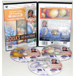 Gretchen Cagle's 3 Hour, 3 DVD Still Life and Floral Oil Painting, Disc Set (Volum I,II and III)