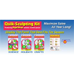 Rigid Wrap Quik Sculpt Value Pack, Pack of 4