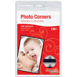 Scrapbook Adhesives™ Paper Photo Corners Silver; Color: Metallic; Material: Paper; Quantity: 126-Pack; (model 01627-10), price per 126-Pack