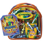 Crayola® Art Buddy Backpack: Children's Art Kit, (model 04-5350), price per each