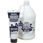 Liquitex® Basics Gesso 1/2 gallon; Format: Jug; Size: 1/2 gal; Type: Gesso; (model 104084), price per each