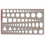 Pickett® Metric General Purpose Template: 2 mm - 30 mm, (model 1303I), price per each