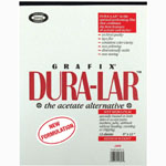 "Grafix® Dura-lar™ 20"" x 25"" Wet Media Film; Format: Pad; Quantity: 10 Sheets; Size: 20"" x 25""; Thickness: .004""; Type: Wet Media; (model 4DW2025), price per 10 Sheets"