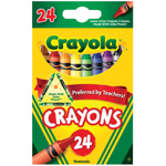 Crayola® Original Crayons 24-Color: Multi, (model 52-3024), price per pack