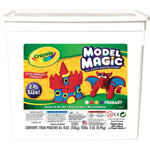 Crayola® Model Magic® Resalable Bucket 2lb Primary; Color: Multi; Size: 8 oz; Type: Craft; (model 57-4415), price per each