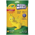 Crayola® Model Magic® Single Pack 4oz Yellow: Yellow, 4 oz, Craft, (model 57-4434), price per each