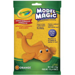 Crayola® Model Magic® Single Pack 4oz Orange; Color: Orange; Size: 4 oz; Type: Craft; (model 57-4436), price per each
