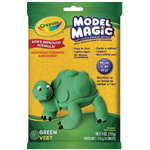 Crayola® Model Magic® Single Pack 4oz Green: Green, 4 oz, Craft, (model 57-4444), price per each