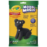 Crayola® Model Magic® Single Pack 4oz Black: Black/Gray, 4 oz, Craft, (model 57-4451), price per each