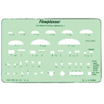 "Timely® Flowplanner Template Set; Color: Green; Size: 4 3/8"" x 6 7/8""; Type: Mechanical; (model 60T), price per set"