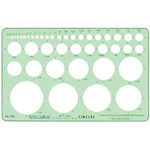 """Timely® Circle Template; Scale: 1/32"""" - 2 1/4""""; (model 88T), price per each"""