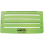 "Rapidesign® Lettering Aid Template; Scale: 1/16"", 1/8"", 3/32"", 5"", 5/32""; (model 926R), price per each"