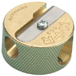 Alvin® Brass Round Sharpener Replacement Blades: 3-Box, Replacement Blade, (model 9867B), price per 3-Box