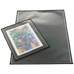 "Prestige™ Archival Print Protector 20"" x 26"": Black/Gray, Polypropylene, 20"" x 26"", (model AA2026-6), price per pack"