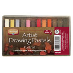 Heritage Arts™ Artist Drawing Portrait 12-Color Pastel Set; Color: Multi; Format: Stick; Type: Drawing; (model ADP12PT), price per set