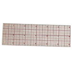 "Westcott® C-Thru® 18"" Beveled Graph Ruler: Clear, Plastic, 18"", Ruler, (model B85), price per each"