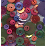 Buttons Galore & More Button Bananza Grab Bag: Sherbet