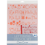 "Blue Hills Studio™ Lettering Stencil Set Clean Curves: 1"", 3/8"", Lettering, (model BHS108SET), price per set"