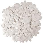 "Blue Hills Studio™ Irene's Garden™ Jar O'Blooms White: White/Ivory, Paper, 2 1/2"", Dimensional, (model BHS810), price per each"