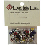 "Blue Hills Studio™ Eyelet Assortment Classic Set: Multi, Aluminum, Round, 1/8"", (model BHSEYE1), price per pack"