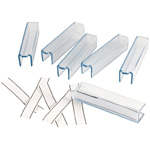 Alvin Large Document Binder/Blueprint Clamp Replacement Label Sleeves: Pack of 6