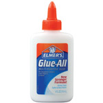 Elmer's® Glue-All® Multi-Purpose Liquid Glue 4oz; Format: Bottle; Size: 4 oz; Type: All Purpose; (model E1322), price per each