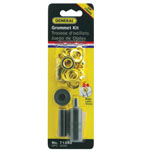 "General® Grommet Kit 3/8"": Metallic, Steel, Round, 3/8"", (model G71262), price per kit"