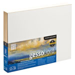 "Ampersand™ Gessobord™ Cradled 9 x 12; Color: White/Ivory; Format: Panel/Board; Size: 9"" x 12""; Type: Gesso; (model GBWC912), price per each"