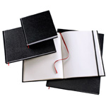 "Heritage Arts™ Hardcover Sketchbook 8 1/2 x 11: Wire Bound, White/Ivory, Book, 110 Sheets, 8 1/2"" x 11"", 70 lb, (model HBB8511), price per each"