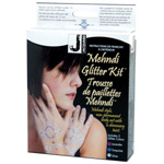 Jacquard Glitter Body Art Kit: Multi, Bottle, Glitter, (model JAC9510), price per kit