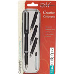 Manuscript Creative Calligraphy Set: Multi, Fountain, Nibs Included, B-Style, Fine Nib, Scroll Nib, Calligraphy, (model MC1105), price per set