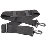 Alvin® Stow & Go™ Adjustable Shoulder Strap: Black/Gray, (model NSS-BK), price per each