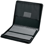 "Prestige™ Elegance™ Series Presentation Case 17 x 22: Black/Gray, Vinyl, 10 Pages, 10 Protective Sleeves, 17"" x 22"", (model PCA1722), price per each"