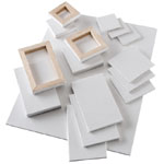 "Heritage Arts™ Mini Stretched Canvas 3 x 5: 3"" x 5"", Mini, Stretch, (model SCG35), price per box"