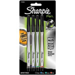 Sharpie® Pen 4-Color Set; Color: Multi; Tip Type: Fine Nib; (model SN1742662), price per set