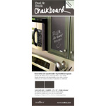 "Wallies® 9"" x 12"" Peel & Stick Chalkboard Sheets Gray 2-Pack: 9"" x 12"", Chalkboard, (model WALL16004), price per pack"
