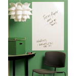 "Wallies® 25"" x 38"" Peel & Stick Dry Erase Panel: 25"" x 38"", Dry Erase, (model WALL16021), price per each"