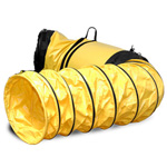 "Yellow 25"" Vinyl Hose with Cuff & Bag for ElectroCorp AirMarshal 1000, AirMarshal 2000, AirMarshal 3000 and AirMarshal 4000 Models"