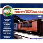 Badger Modelflex RailRoad Private Car Colors
