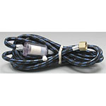 Badger 10 feet Braided Air Hose w/ in-line Moisture Trap