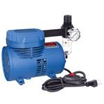 Paasche Model D500SR Air Compressor (1/10 hp.) with Switch & Regulator