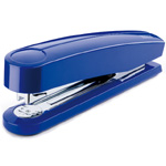 "Dahle B5 Compact Executive Stapler: Blue, 4 1/8"" Throat Depth"