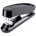 "Dahle B4 Compact Flat Clinch Executive Stapler: Black, 2 3/8"" Throat Depth"
