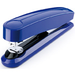 "Dahle B5 Flat Clinch Executive Stapler: Blue, 3 5/8"" Throat Depth"