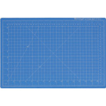 "Dahle Vantage Self Healing Cutting Mat: Blue, 12"" x 18"" Cut Size"