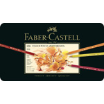 Faber Castell Polychromos Artists Colour Pencil: Tin of 120