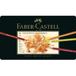 Faber Castell Polychromos Artists Colour Pencil: Tin of 36