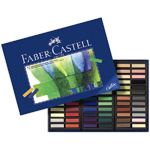 Faber-Castell Studio Quality Mini Soft Pastel: Cardboard Box of 72